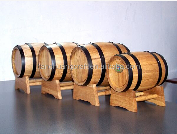 China trade assurance supplier of <strong>oak</strong> <strong>barrel</strong> 50L dia40xH55cm