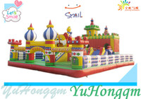 Kids Giant Inflatable Amusement Park ,Inflatable Fun City Play By Adult And Children Games