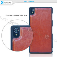 Popular detachable wallet cover for Sony Z3,for sony xperia z3 cover case