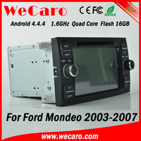 Wecaro WC-FU7016 Android 4.4.4 dvd gps 1080p for ford mondeo navigation 2003 - 2007 Wifi&3G