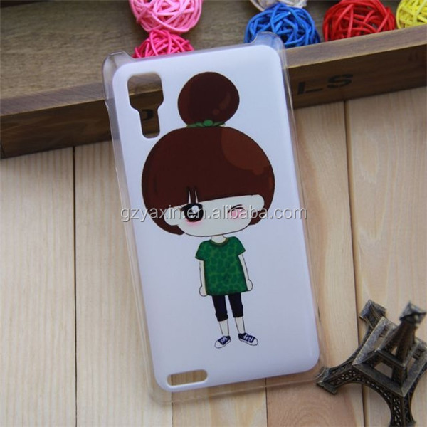 Unique Hard Plastic Beatiful Cartoon Girl Series Shell Hard Case For Lenovo
