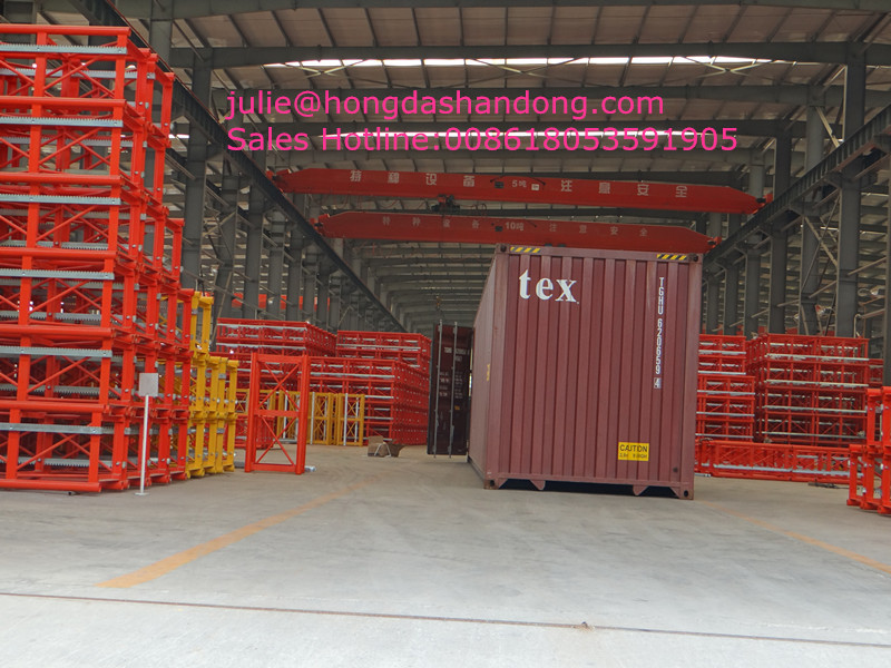SHANDONG HONGDA TIELISHI Double Cages Frequency conversion Construction Lift SC200/200XP