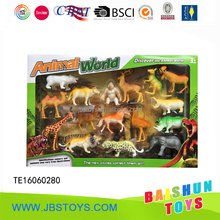 2016 new design animal toy set for kids te16060280