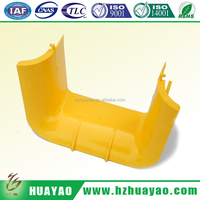fiber runner/fiber channel/pvc fiber optical cable tray