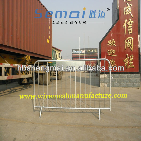 SEMAI High Quality CE Approved Temporary Fence 48mm Pipe