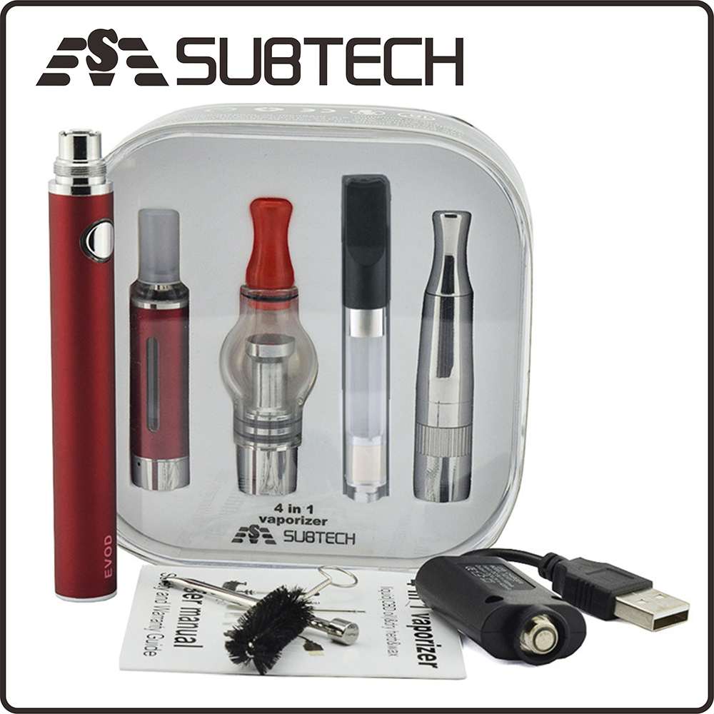 New design 1100mah battery dry herb vaporizer e pipe