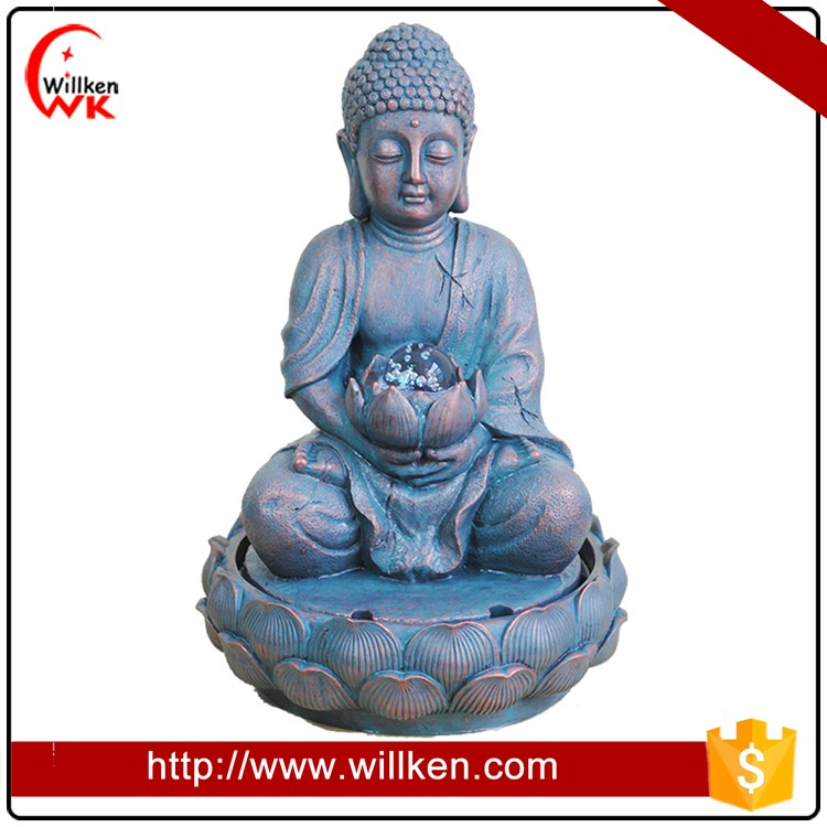 New Arrival Home Indoor Decoration Buddha Statues Fountain