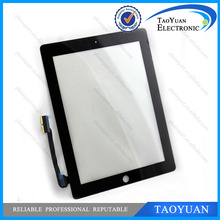 TY New for iPad 4 Touch Screen Digitizer with Frame For iPad 4 Replacement Part