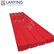 flexible color coated metal roofing