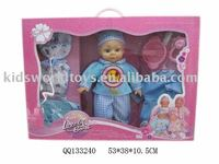 "16"" doll set with 4-sound"