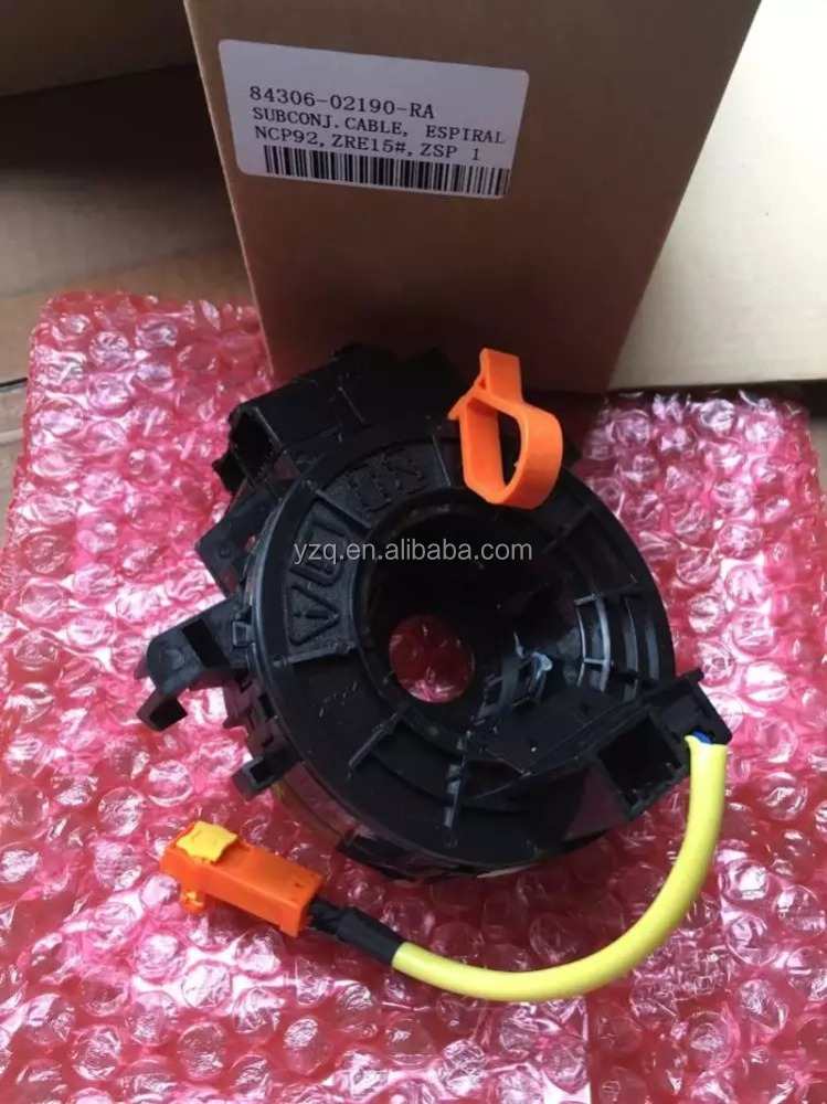 OEM 84306-02190 New Spiral Cable Sub-Assy Clock Spring For Toyota Yaris Vios