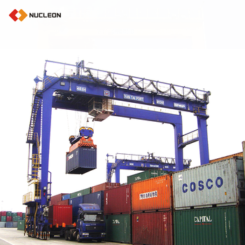 Nucleon New Design 25T Rubber Type Container Gantry Crane