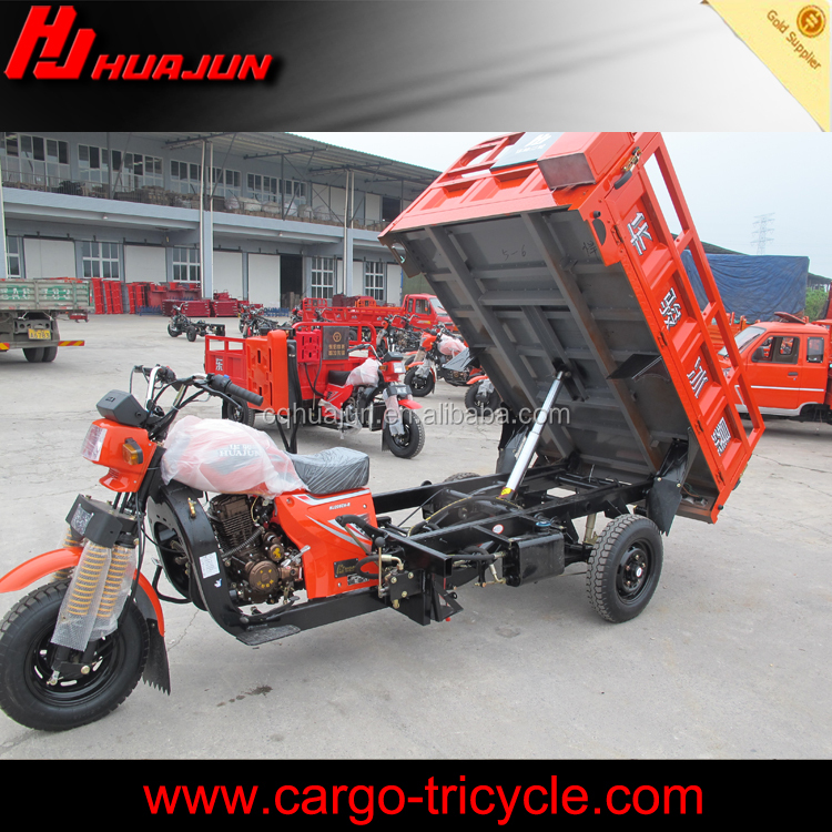 Loncin engine top quality motor tricycle/hydraulic lifter tuk tuk