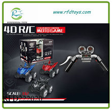 New product 1:12 scale 4d moto game simulation rc motorcycle
