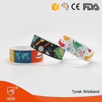 Event & Party Supplies Type and Party Decoration Event & Party Item Type tyvek paper wristband