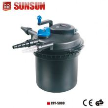 SUNSUN (CE GS) 10000L/h Factory sale water filter uv lamp CPF-10000