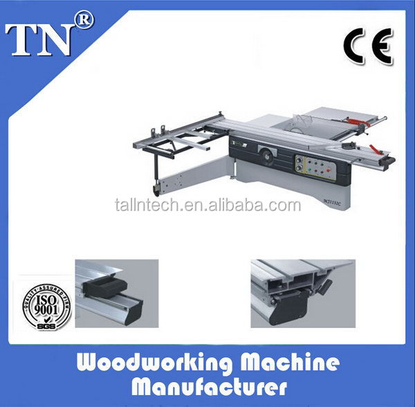 New style promotional used sliding table saw machine