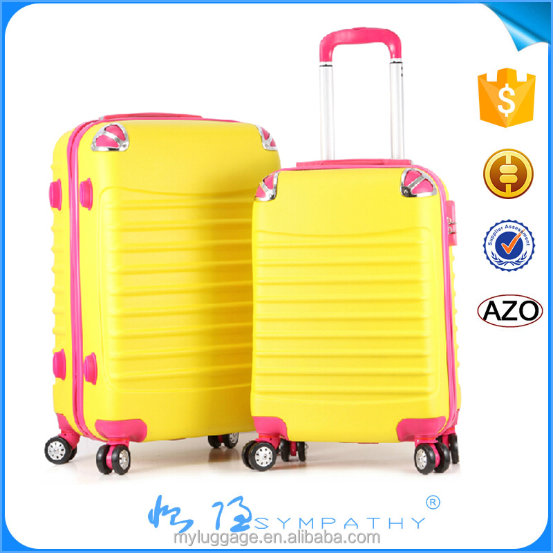 2016 hotel travel trolley foldable luggage with removable wheels