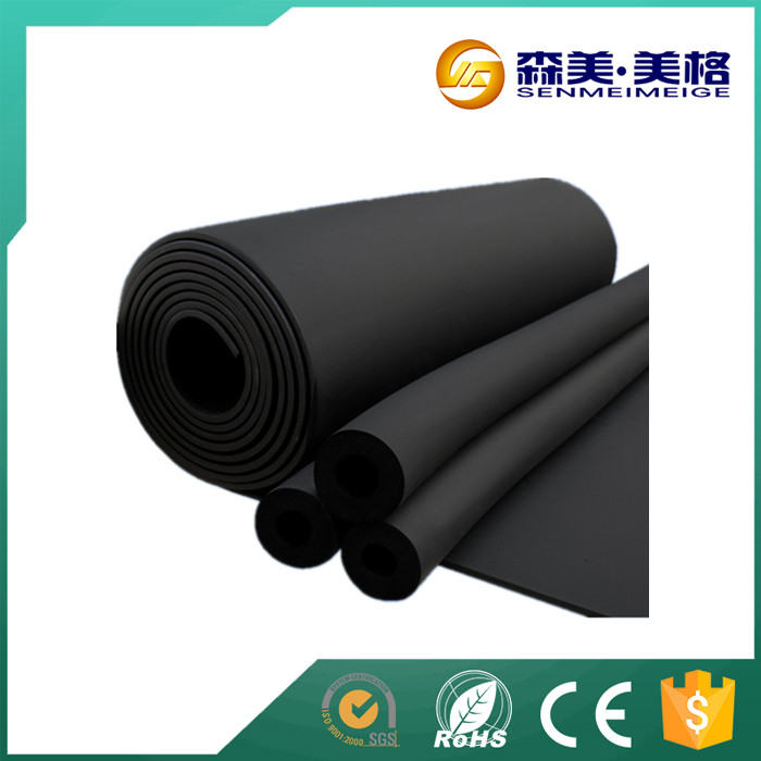 Aluminum foil rubber foam insulated roof sheets prices