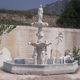 Garden Outdoor Decoration Beautiful tire stone marble water fountains statue