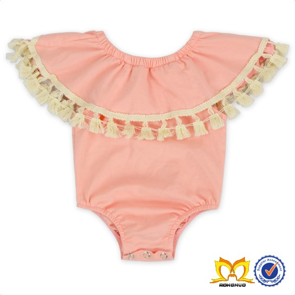 Thaksgiving Turkey Baby Toddlers Wear Clothes With Orange Striped Stylish Baby Girls Clothing Set.