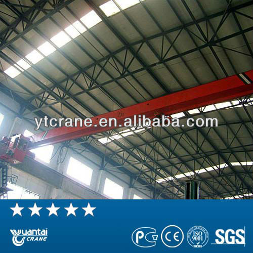 Single Girder good electric travelling overhead crane parts