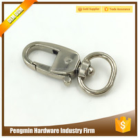 China OEM promotion cheap metal key chain snap hook