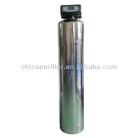 Yili water central water filter names with stainless steel filter housing and carbon cartridge