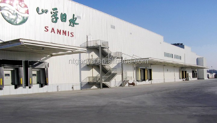 steel structure prefabricated workshop for construction