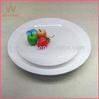 Ceramic Porcelain embossment oval platter