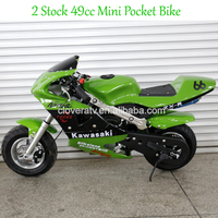 CE Approved Used Mini Kids Motor Bike 49CC Pocket Bike