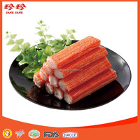 Frozen simulated crab stick