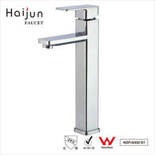 Haijun China Factory Thermostatic Bathroom Basin Water Sink Mixer Taps Faucets