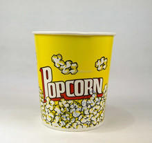 Custom Printed popcorn Paper Cup Paper Bowls ice ream water proof containers