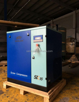CE Industrial Portable Mini Atlas Copco Screw Air Compressor in China Factory