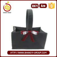 Christmas polyester felt carry gift bag for decoration