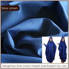 wholesale ladies burka textile material 100 polyester anti wrinkle cheap dress fabric online