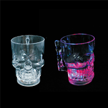 400ml Light Up Skull Mug
