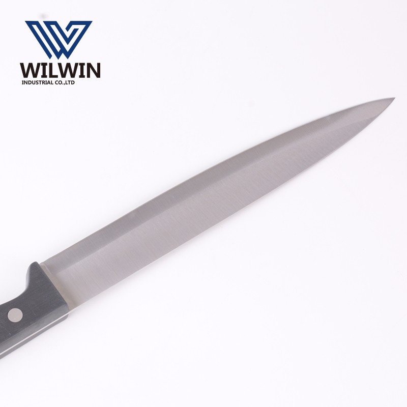 8 inch stainless steel carving knife/slicing knife with POM handle