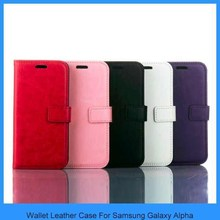 For samsung galaxy alpha Wallet Case