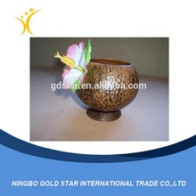 2015 coconut shape ball drinking cup plastic coconut cup