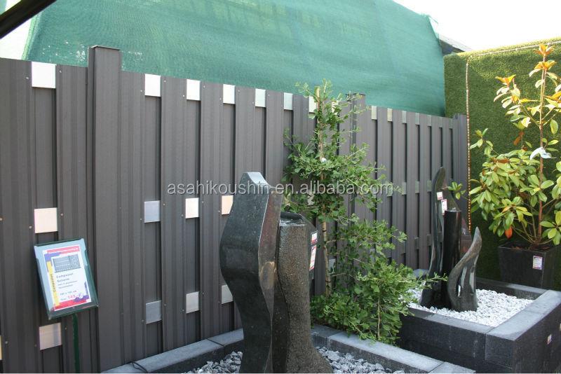 jahresende verkauf dauerhaft wasserdicht wpc zaun gel nder aus japan zaun gitter t r produkt. Black Bedroom Furniture Sets. Home Design Ideas