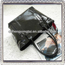 Hand bag 2012 new style Lady's fashion genuine leaher handbag tote bag