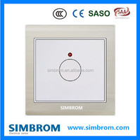 Fire Resistant Automatic Turn Off Light Sensor and Time Delay Voice Control Light Switch