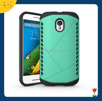 China wholesale! 2 in 1 mobile phone shield case cover for Moto G3