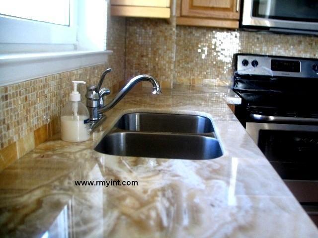 pakistani rmy 001 top quality onyx/marble kitchen countertops