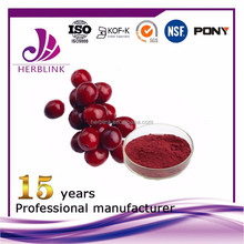 Cranberry fruit powder preventing urinary tract infection uti