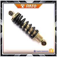 Inexpensive motorcycle air adjustable shock absorbers