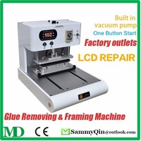 Glue Removing and Framing Machine For Iphone Samsung Touch Screen LCD Frame Laminator