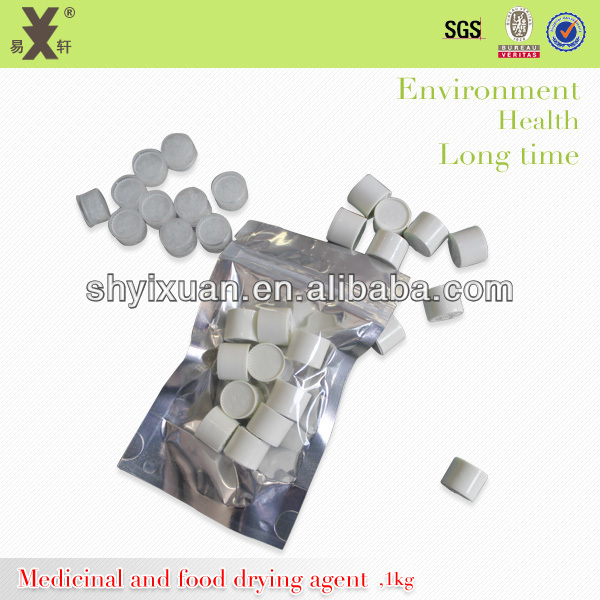 1g,3g,5g Canister white Silica Gel desiccant Capsules for Pharmaceutical